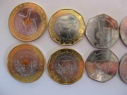 "MAURETANIA Mauretanien Set Of 6 Coins UNC #G With New ""2"" Coin - Mauritanië"