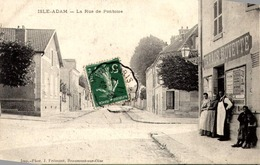 > [95] Val D'Oise > L'Isle Adam LA RUE DE PONTOISE TBE - L'Isle Adam