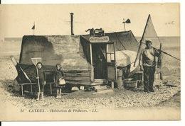 80 - CAYEUX / HABITATION DE PECHEURS - Cayeux Sur Mer