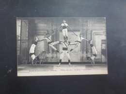 Pons Societé De Gymnastique  La Pontoise Pyramide 2 - Pons
