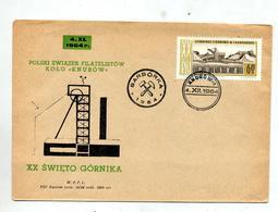 Lettre Cachet Knurow Mine - Poststempel - Freistempel