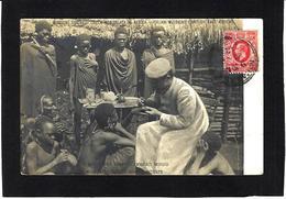 CPA Kenya Ethnic Afrique Noire Type Circulé - Kenia