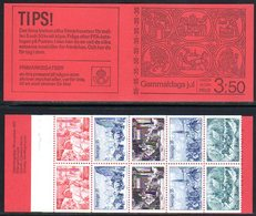 SWEDEN 1971 Christmas Booklet MNH / **.  Michel MH30 - Booklets
