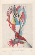Pour Le Droit Et La Liberté - Signé               (190622) - Andere Zeichner