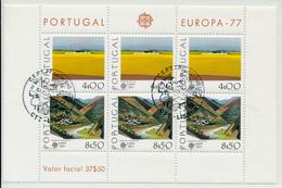PORTUGAL - 1977 , EUROPA / CEPT -  Block  Landschaften - Europa-CEPT