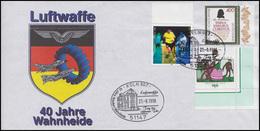 40 Jahre Luftwaffe  Wahnheide Emblem MiF Bf. SSt KÖLN Tag Der Offenen Tür 1996 - Verkehr & Transport