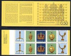 SWEDEN 1971 Crown Jewels Booklet MNH / **.  Michel MH29 - Markenheftchen