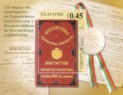 Bulgarien, 2004, 4644 Block 263,  MNH **, 125 Jahre Verfassung Des Fürstentums Bulgarien. - Hojas Bloque