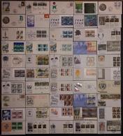 FDC Nations Unies - Premier Jour - Lot De 50 FDC - Thématique Divers - Timbres