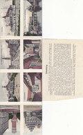 Lüneburg - Klappkarte Mit 8 Handcol.Bildern - Pat.Universalkarte            (190622) - Lüneburg