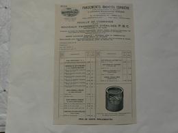 VIEUX PAPIERS  - CATALOGUE (4 Pages) : THERM'X : Réchauffeur De Moteur, Chaufferettes De Pieds - Tarifs - Advertising
