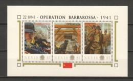 Nevis - MNH Sheet B2 WORLD WAR 2 - OPERATION BARBAROSSA - 2. Weltkrieg