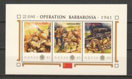 Nevis - MNH Sheet E2 WORLD WAR 2 - OPERATION BARBAROSSA - WW2