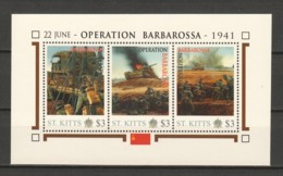 Nevis - MNH Sheet J2 WORLD WAR 2 - OPERATION BARBAROSSA - WW2