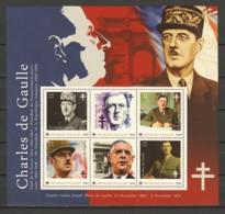 Togo MNH MNH Sheet A1 CHARLES DE GAULLE - De Gaulle (Generale)