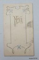Menu Diner Du 17 Decembre 1919 - L. Martin, Restaurateur à Tours - Menú