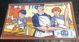 Boucher Boucherie Chromo Suchard Métier Apprentissage Apprentis - Suchard