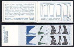 SWEDEN 1969 Tjörn Bridges Booklet MNH / **.  Michel MH22 - Carnets