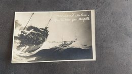 PHOTOGRAPHIE GEORGES BREST CARTE POSTALE TORPILLEUR SAKALAVE TEMPETE 1924 - Guerra
