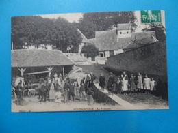 78 ) Goussonville - La Fontaine  - Année 1917 - EDIT : L.S - Frankreich