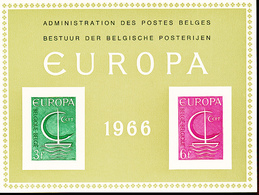 BELGIQUE BELGIUM LUXE SHEET COB LX48 EUROPA - Luxevelletjes