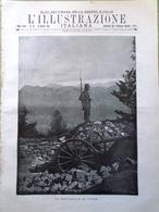 L'illustrazione Italiana 16 Aprile 1916 WW1 Trentino Destree Aumento Dei Prezzi - Guerra 1914-18