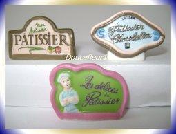 Patisseries  .. 3 Fèves Lot N°2....(pan 0012) - Regio's