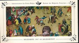 BELGIQUE BELGIUM LUXE SHEET COB LX52 - Luxevelletjes