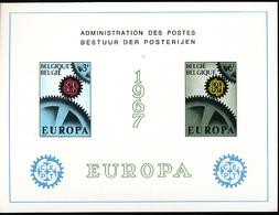 BELGIQUE BELGIUM LUXE SHEET COB LX50 EUROPA - Luxevelletjes