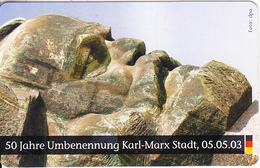 GERMANY(chip) - Deutsche Einheit/50 Jahre Umbennung Karl Marx Stadt(O 044), Tirage 500, 09/03, Mint - K-Series : Série Clients