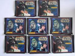 Panini Star Wars La Guerre Des étoiles 1996 8 Gesloten Zakjes Pochettes Fermées - Panini
