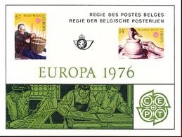 BELGIQUE BELGIUM LUXE SHEET COB LX65 EUROPA - Luxevelletjes