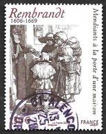 FRANCE  2006-  Y&T  3984 -  Rembrandt   - Cachet - France