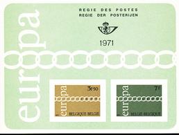 BELGIQUE BELGIUM LUXE SHEET COB LX59 EUROPA - Deluxe Panes