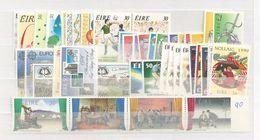 1990 MNH Ireland, Eire, Irland Year Collection, Postfris - Irlanda