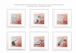 2012 MNH Lituania Year Collection Postfris** - Litauen