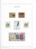 2013 MNH Lituania Year Collection Postfris** - Litauen