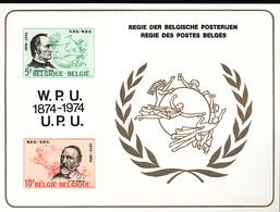 BELGIQUE BELGIUM LUXE SHEET COB LX63 - Luxevelletjes
