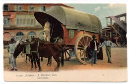 Tarjeta Postal Habana. Carromato. - Postales