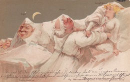 Illustrateur F.KILLINGER - ZÜRICH N° 113- Scène Nocturne - Andere Illustrators