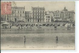 Les Sables D'Olonne-La Plage, Le Grand Hôtel Et Le Splendid Hôtel - Sables D'Olonne