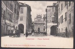 Italia  -  CAMPOROSSO, Piazza Garibaldi - Imperia