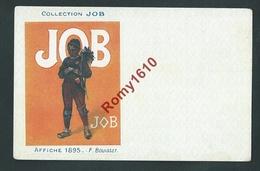 Collection JOB -  Affiche 1895 Signée F. Bouisset. Le Ramoneur. Très Bon état. 2 Scans - Other Illustrators
