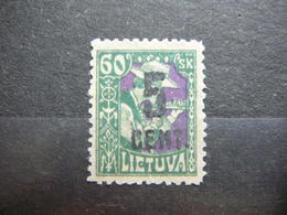 Lietuva Litauen Lituanie Litouwen Lithuania # 1922 MNG No Gum # Mi. 163 - Litauen
