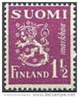 Finland 1930 1.50 Violet Leeuwen Type II PF-MNH-NEUF - Finland