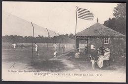 CPA 62 -  LE TOUQUET, Paris Plage, Pavillon Des Tennis - 1909 - Le Touquet