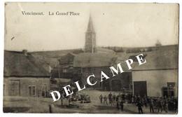 Vencimont - La Grand Place Très Animée - Circulé 1911 - Edit Petitjean Brogniet - SUPER Et RARE - Gedinne