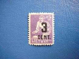 Lietuva Litauen Lituanie Litouwen Lithuania # 1922 * MH # Mi. 158 - Litauen