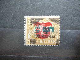 Lietuva Litauen Lituanie Litouwen Lithuania # 1922 * MH  # Mi. 166 - Litauen