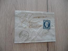 Lettre France Classique Ganges Hérault Pour Quissac Gard 1856 - 1849-1876: Periodo Clásico